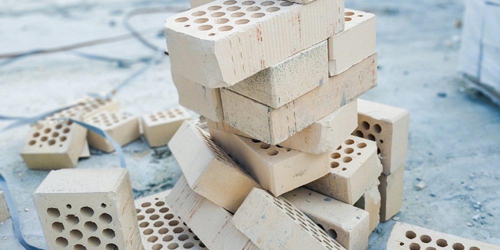 Stacked air bricks