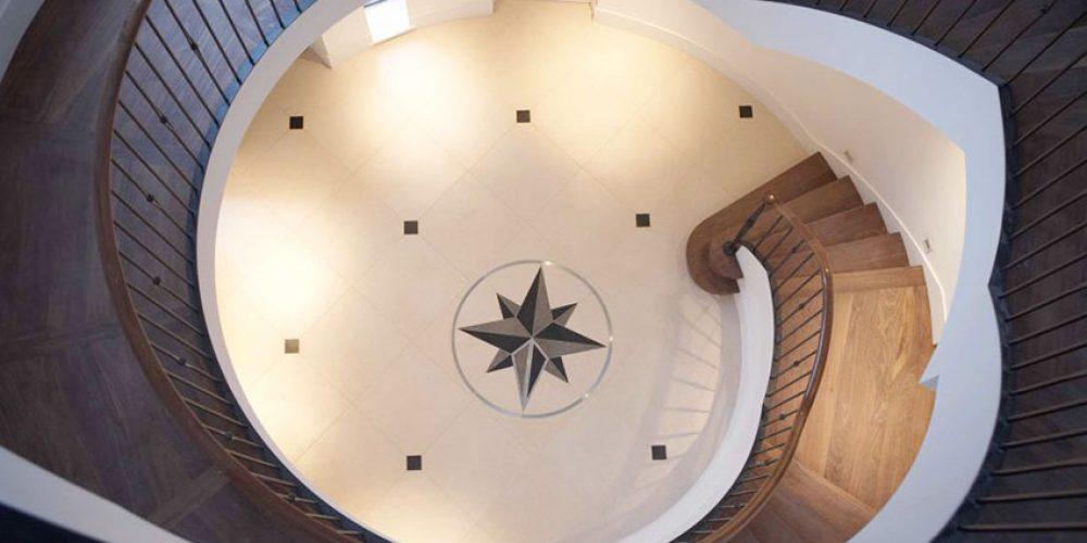 Starburst staircase